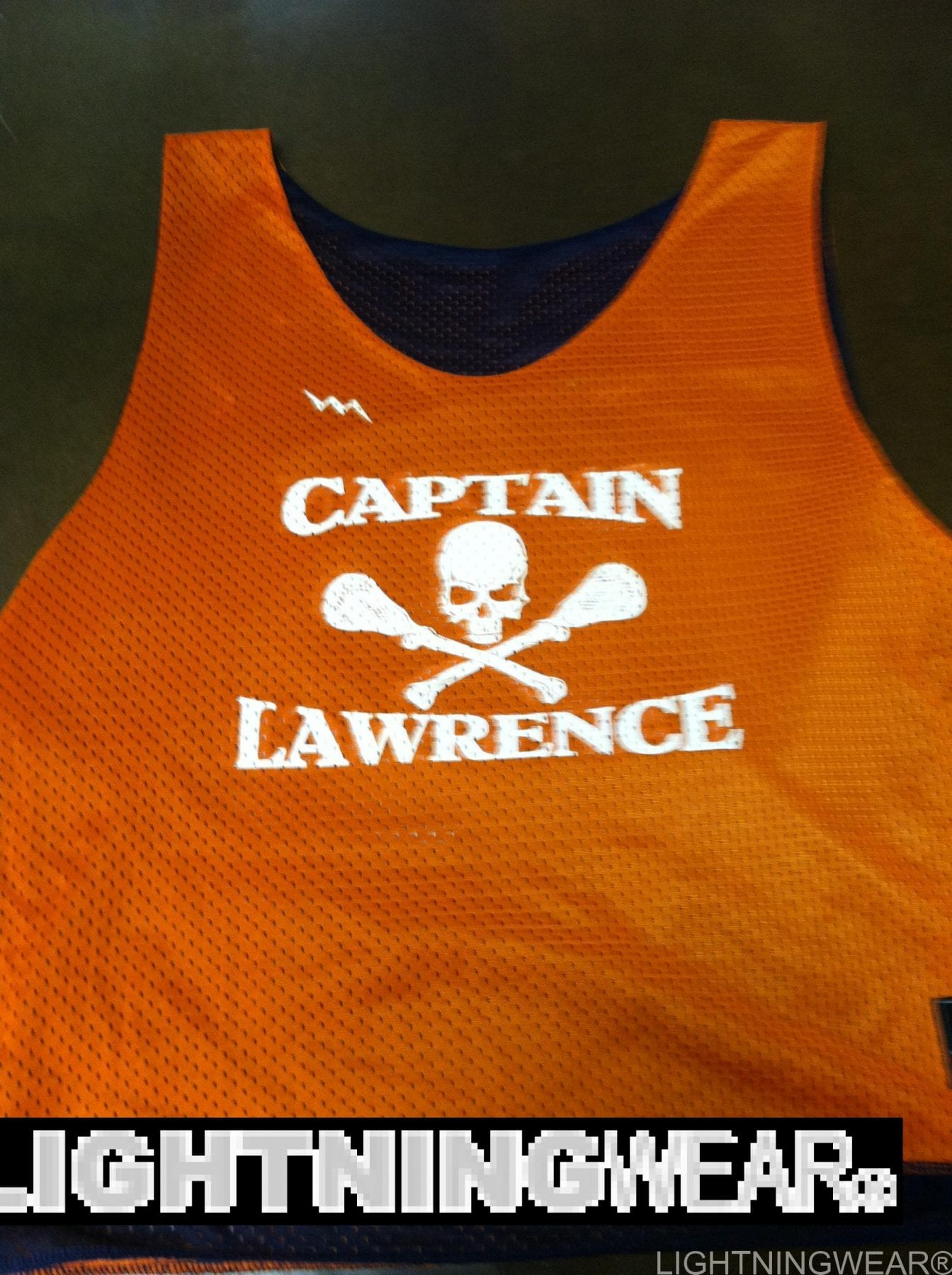Captain Lawrence Lacrosse Pinnies