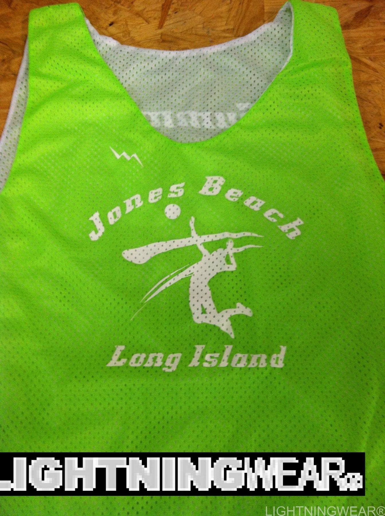 jones beach volleyball pinnies