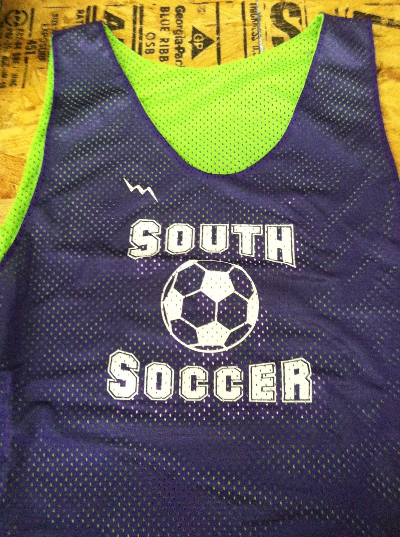 soccer reversible jerseys
