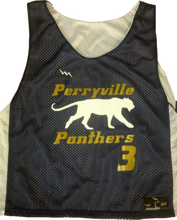perryville panthers lacrosse pinnies