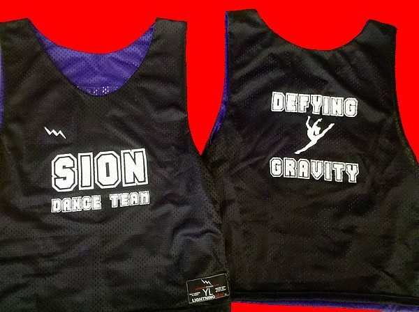 sion dance team pinnies