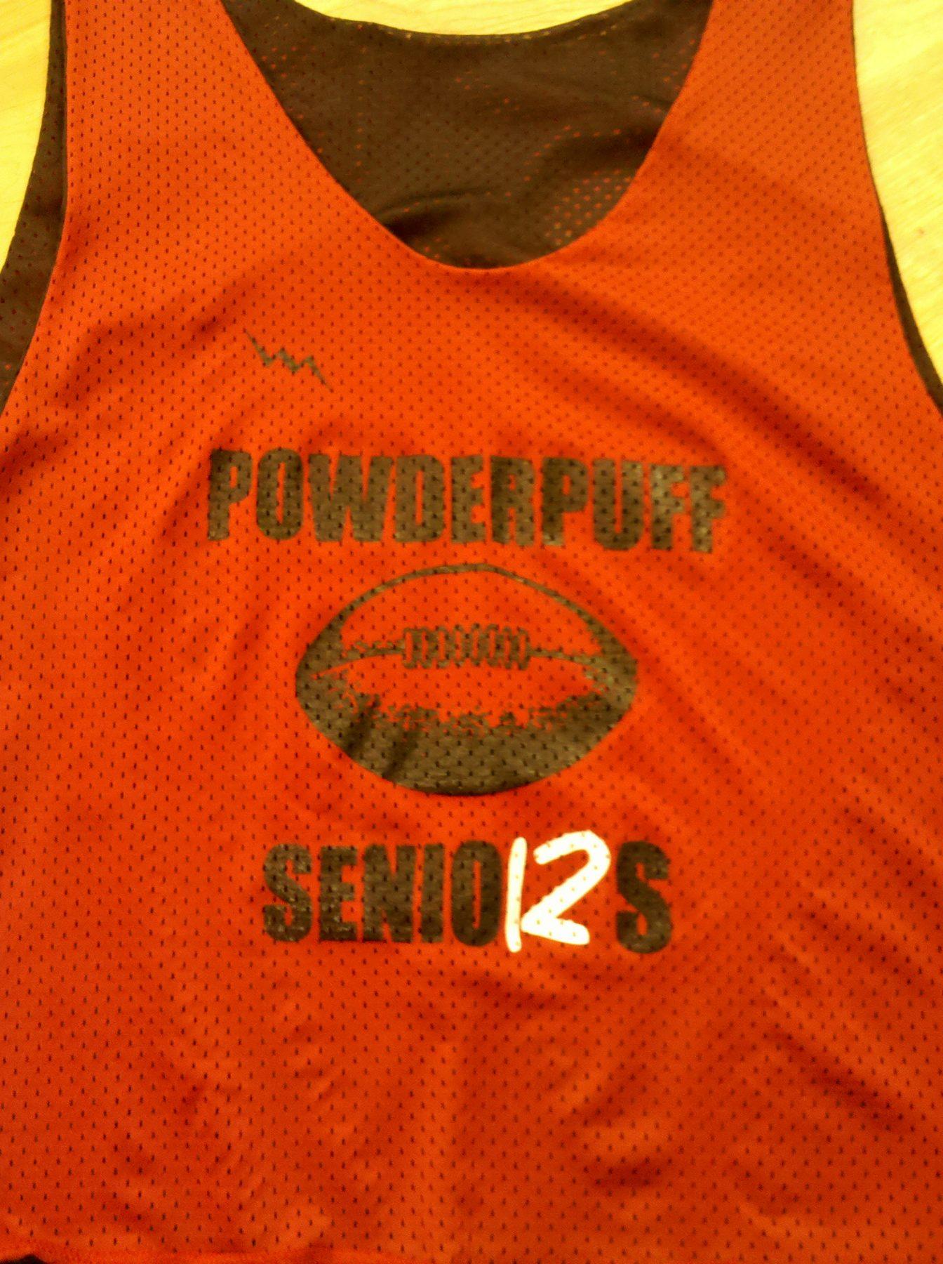 senior powder puff pinnies