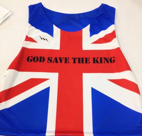 God save the King pinnies