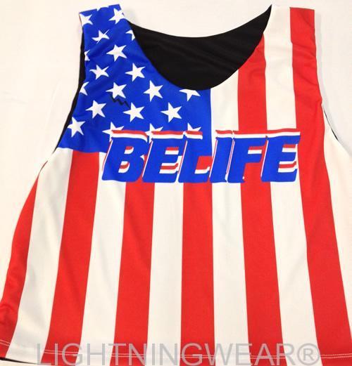 american flag pinnies