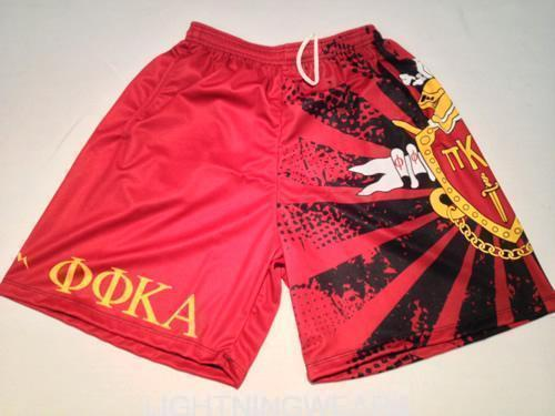 pike shorts custom sublimated shorts