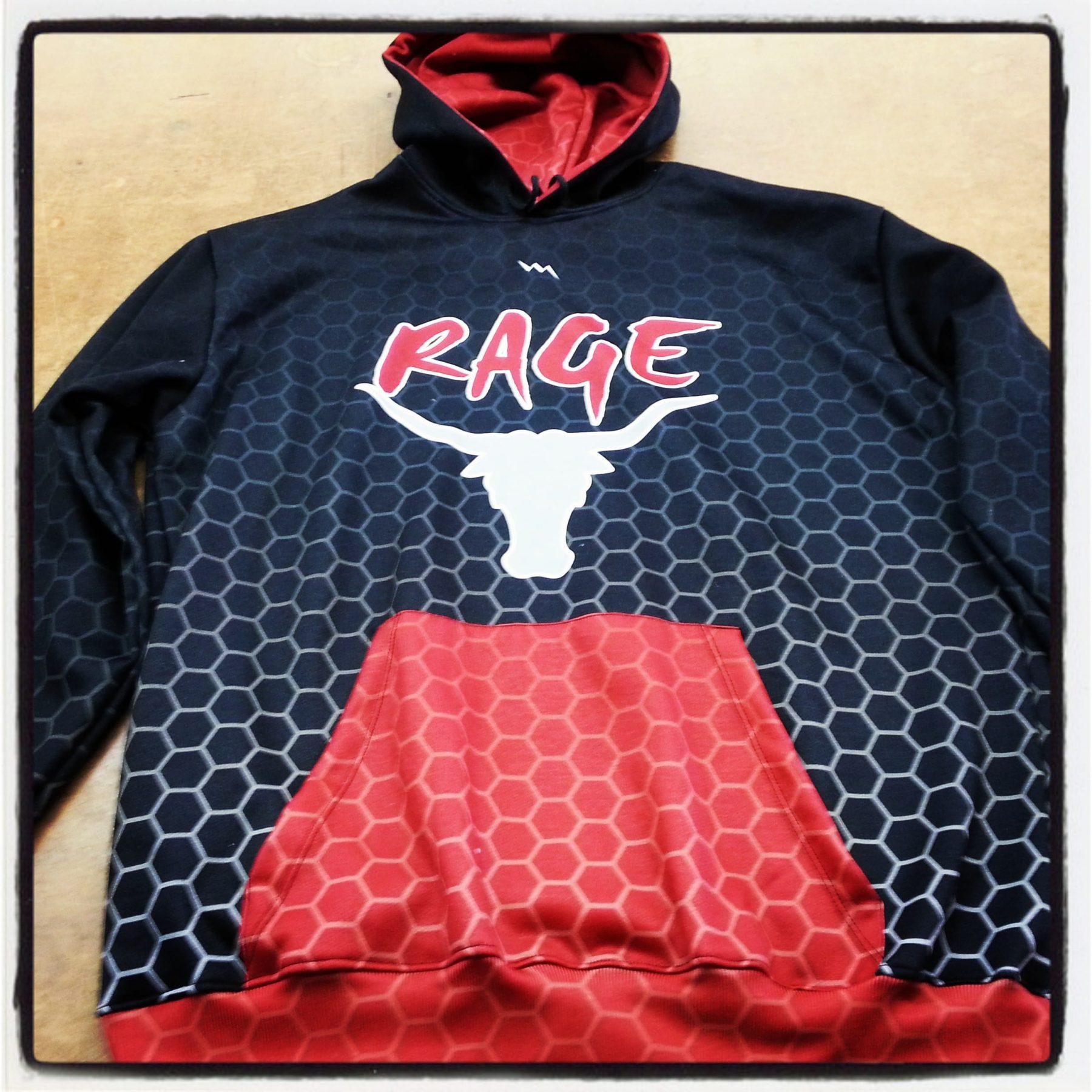 Rage Custom Sweatshirts - Lacrosse Sweats