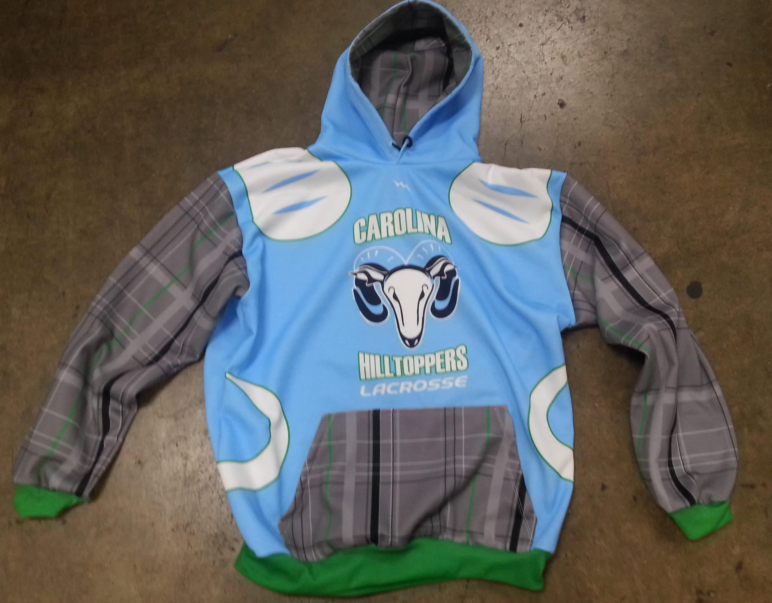 custom lacrosse hoodies