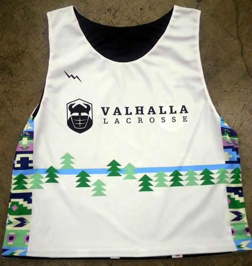 valhalla lacrosse pinnies