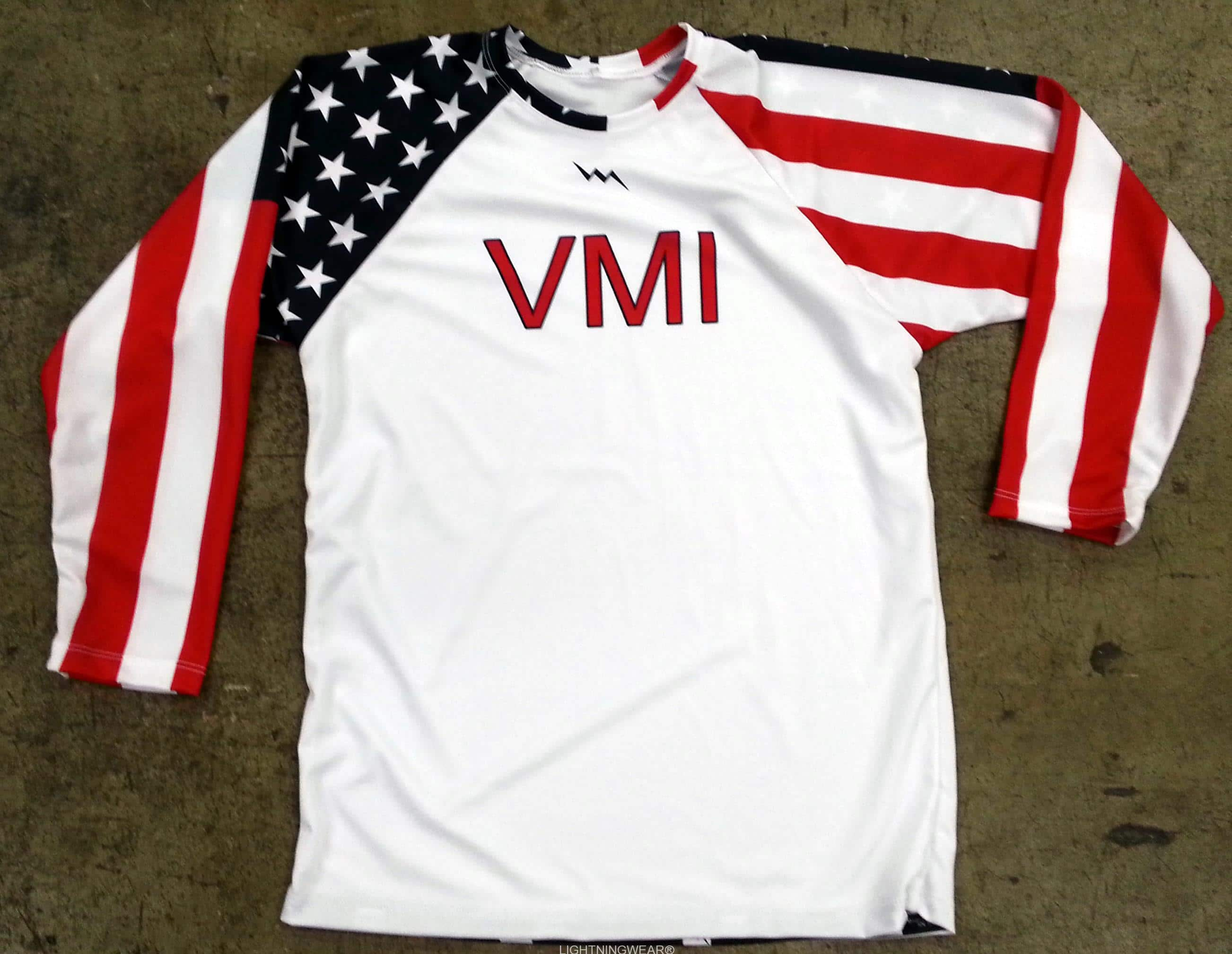 American flag long sleeve shirts - long sleeve shooter shirts