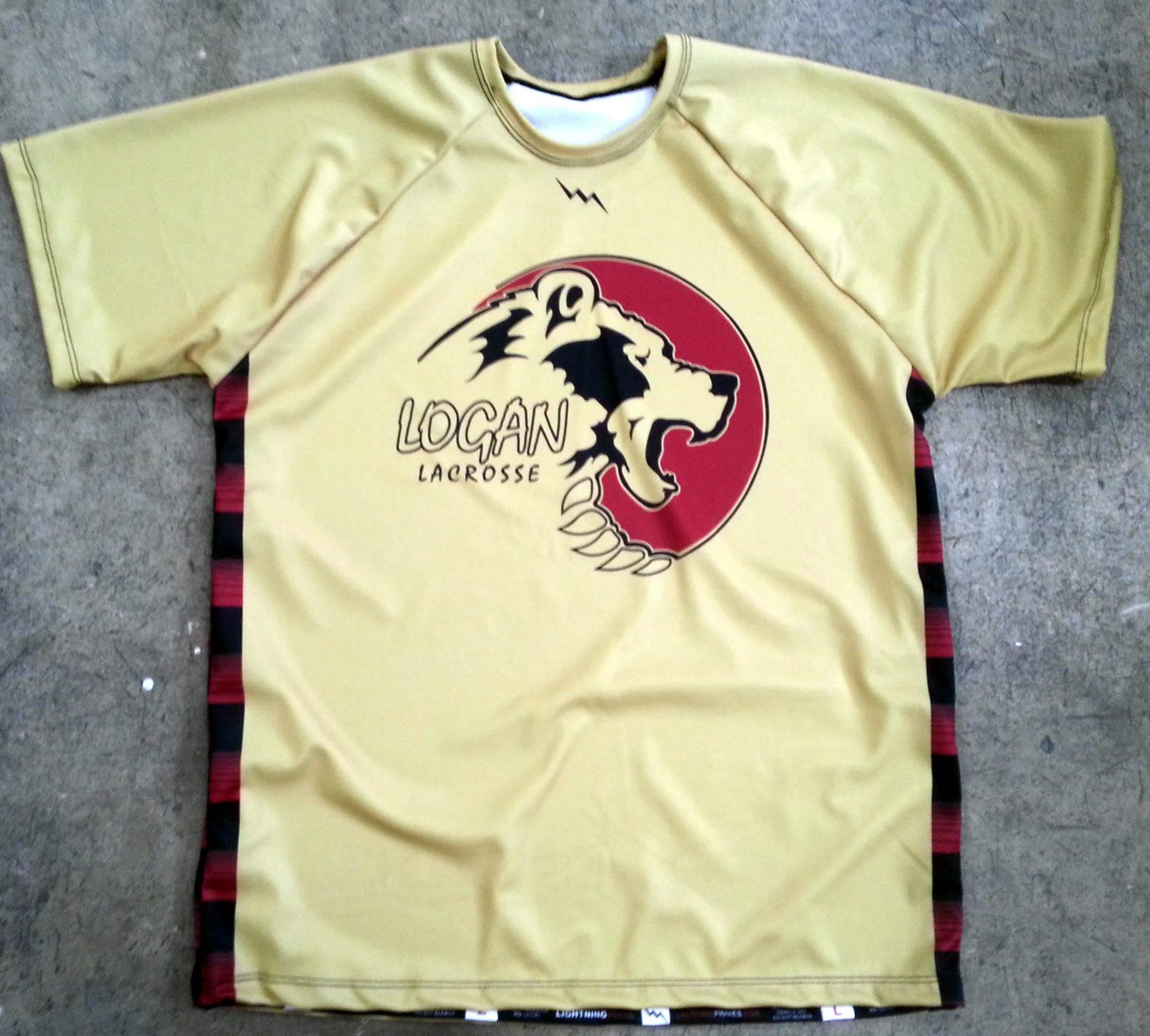 customizable lacrosse shirts