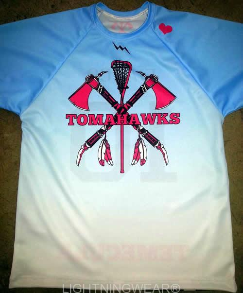 girls custom shooter shirts lacrosse