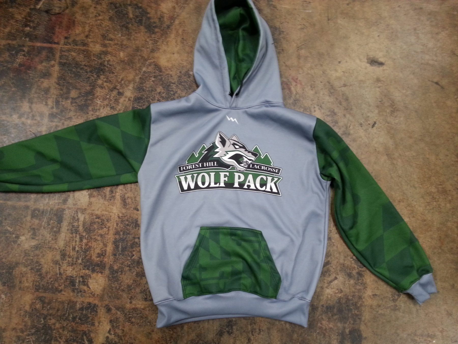 lacrosse sweatshirts sublimated