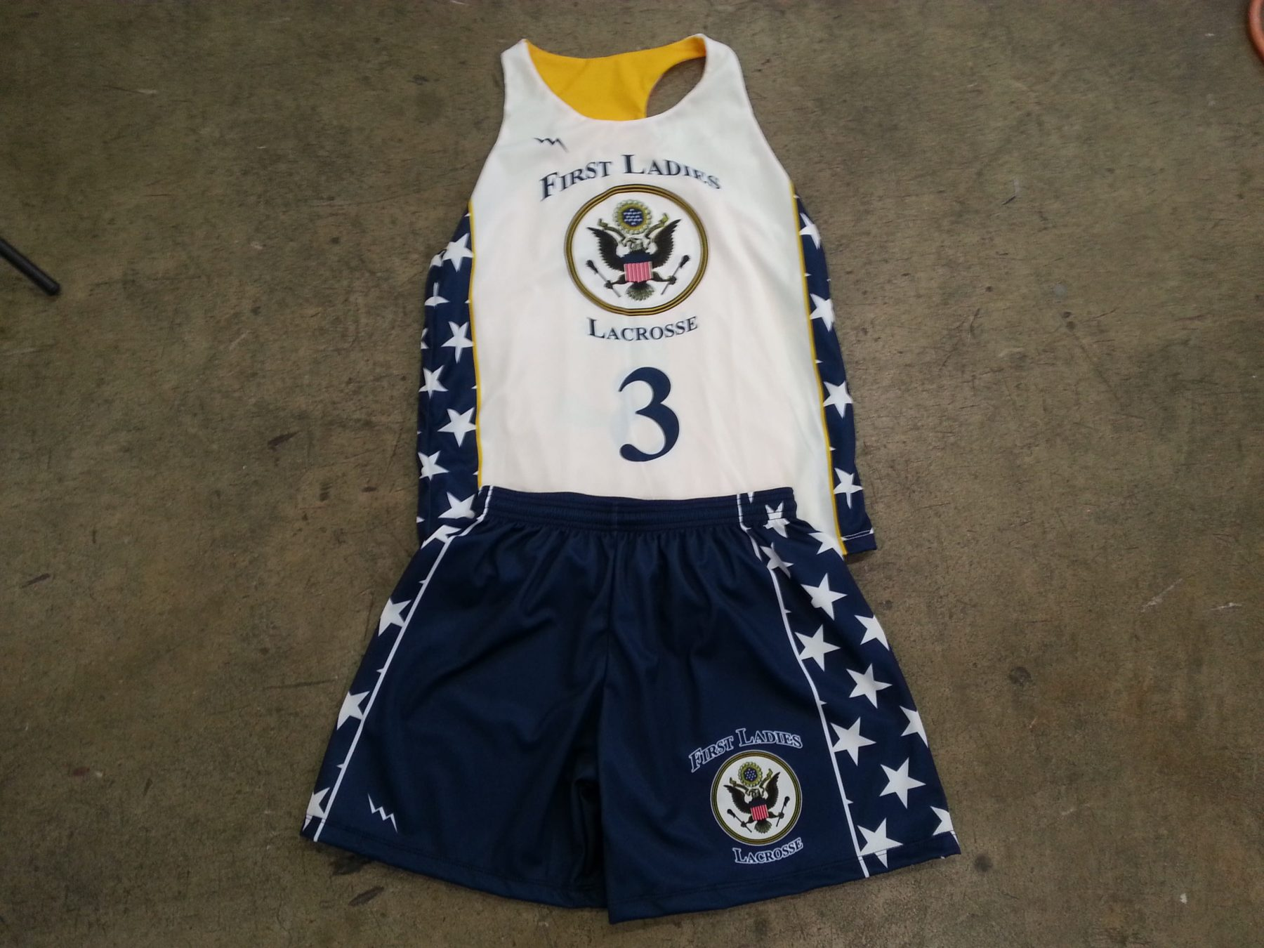 ladies lacrosse uniforms