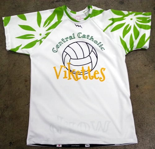 custom volleyball shirts