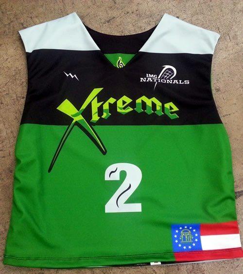 team lacrosse uniform