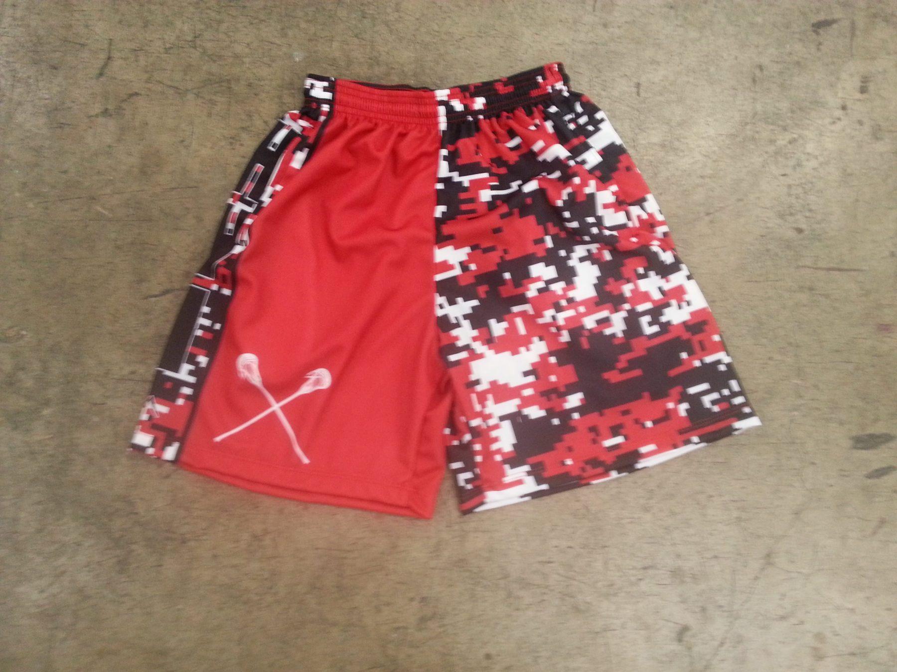lacrosse practice shorts