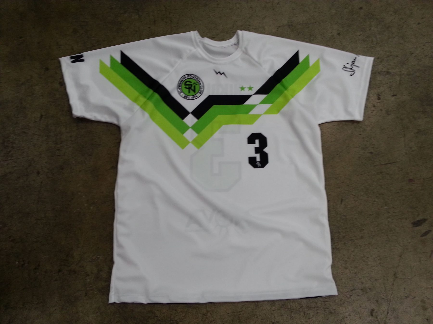 youth soccer jerseys