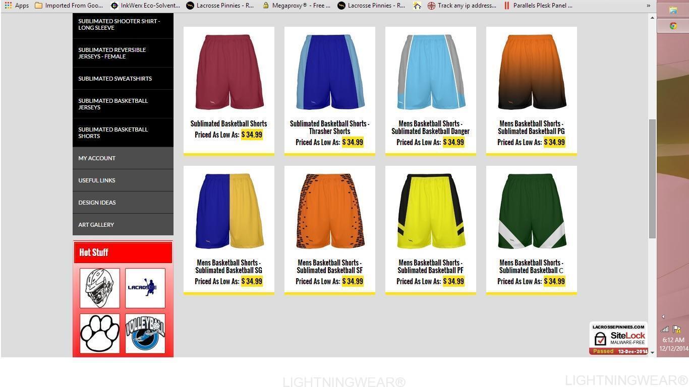 sublimated basketball shorts custom