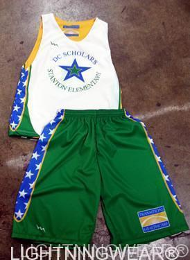 youth custom basketball uniforms
