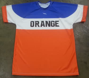 orange soccer jerseys