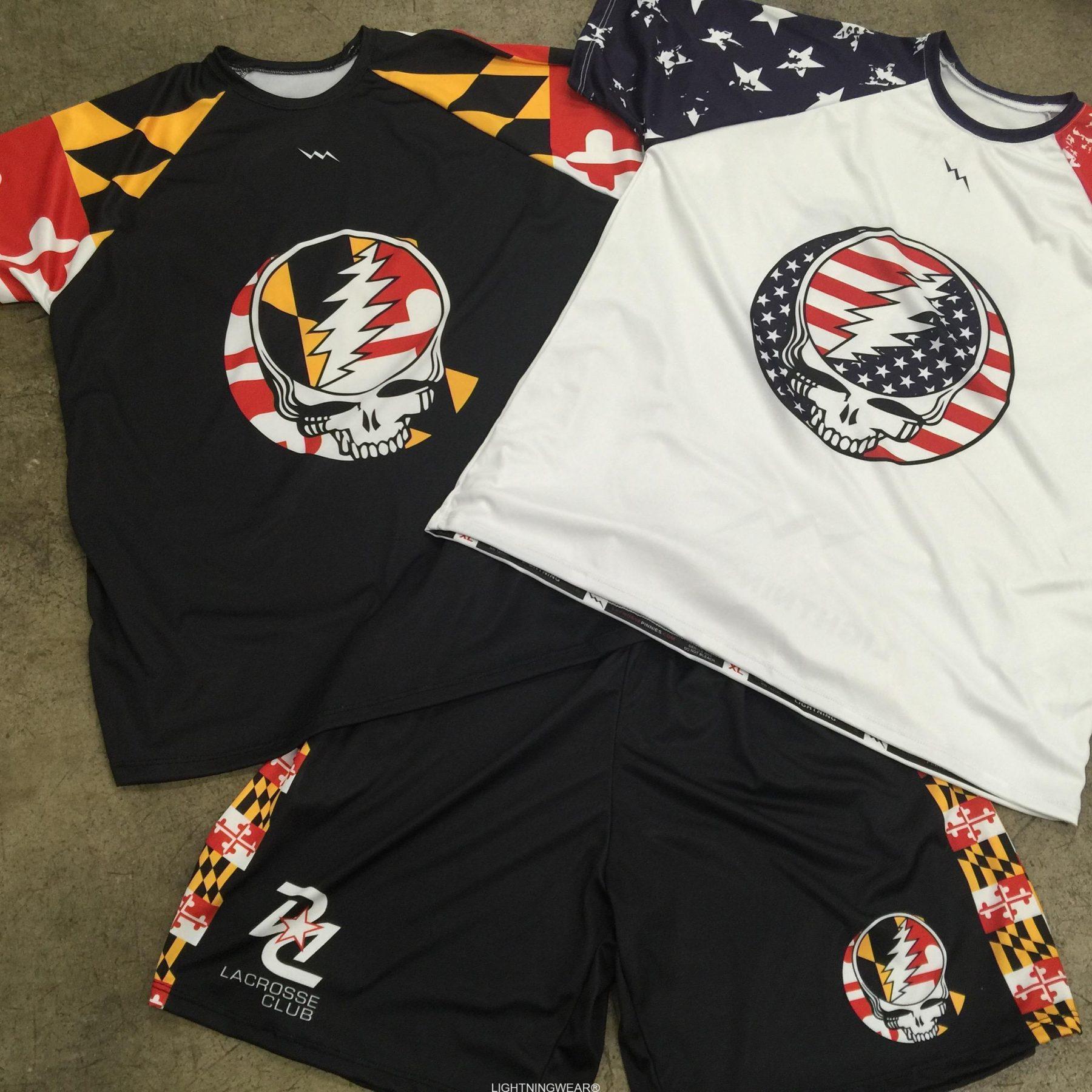 grateful dead lacrosse uniforms