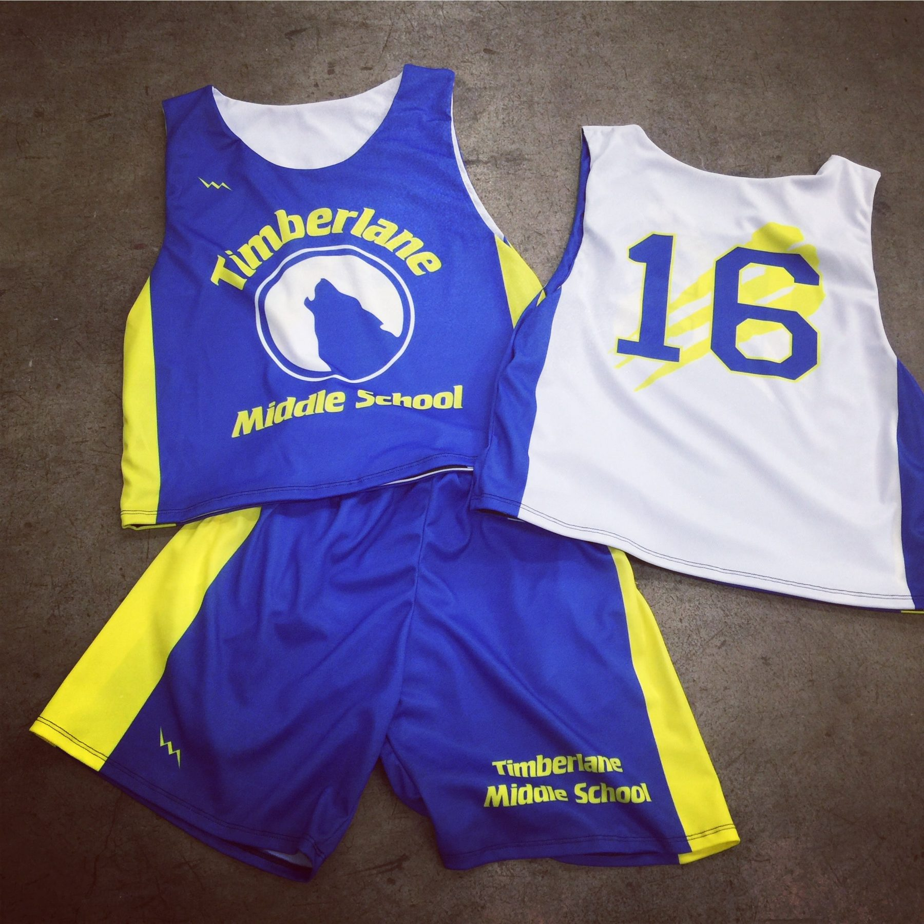Custom Sublimated Lacrosse Jerseys