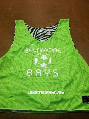 baltimore bays soccer pinnies