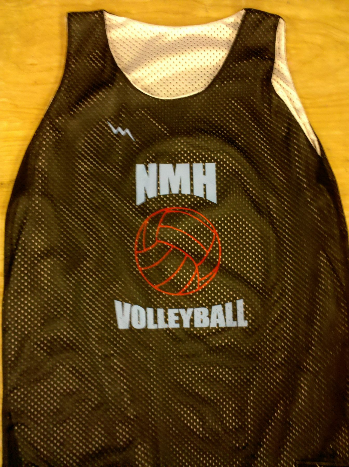 nmh volleyball pinnies