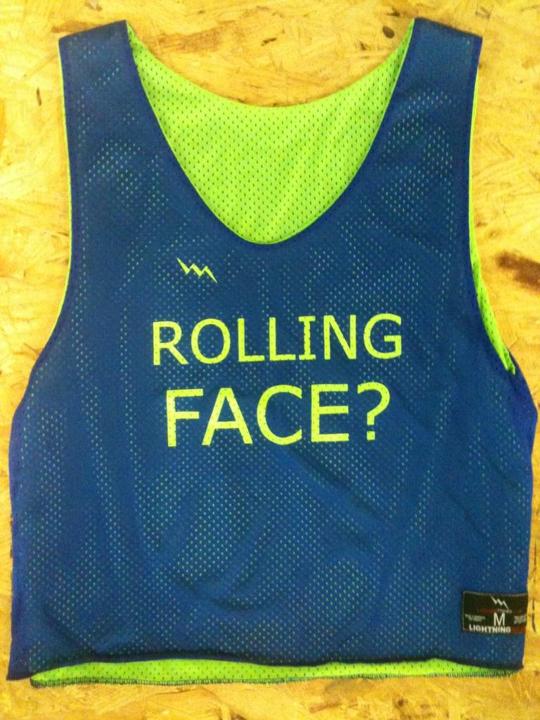 rolling face pinnies