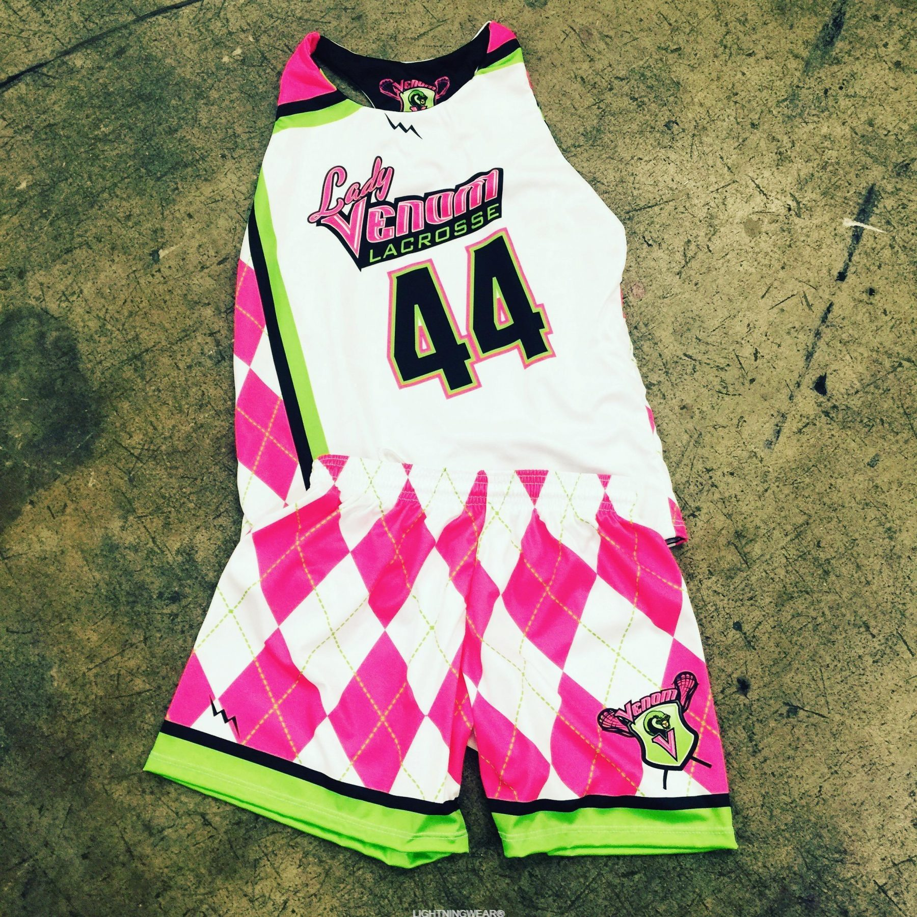 girls sublimated lacrosse uniforms