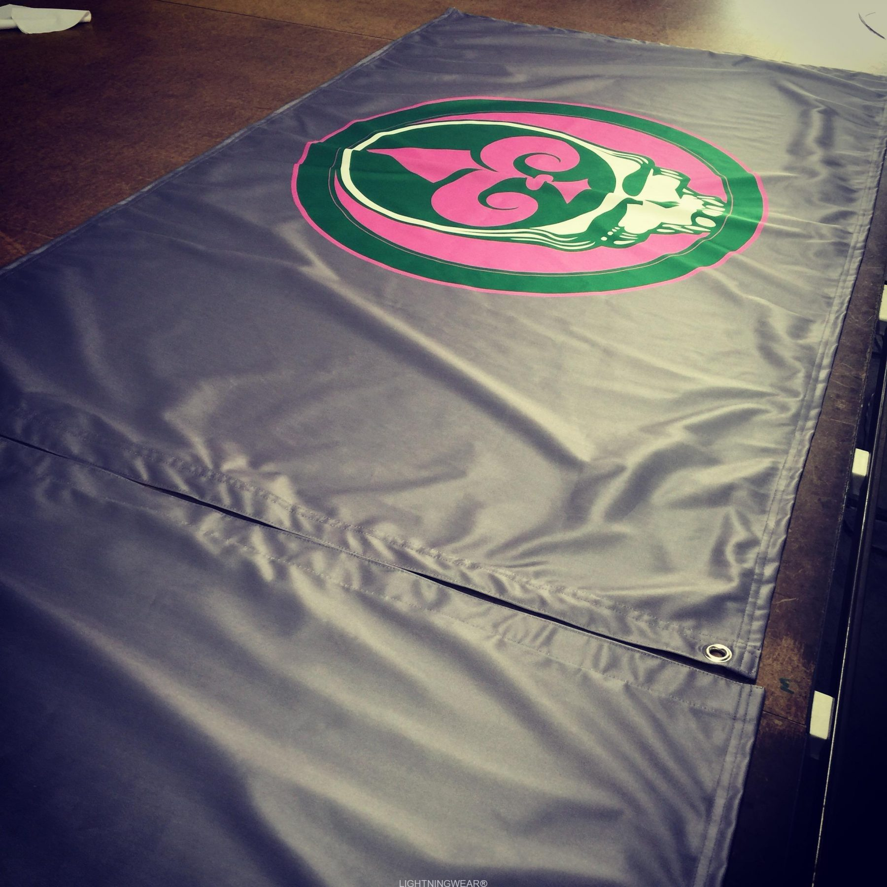 sublimated flags