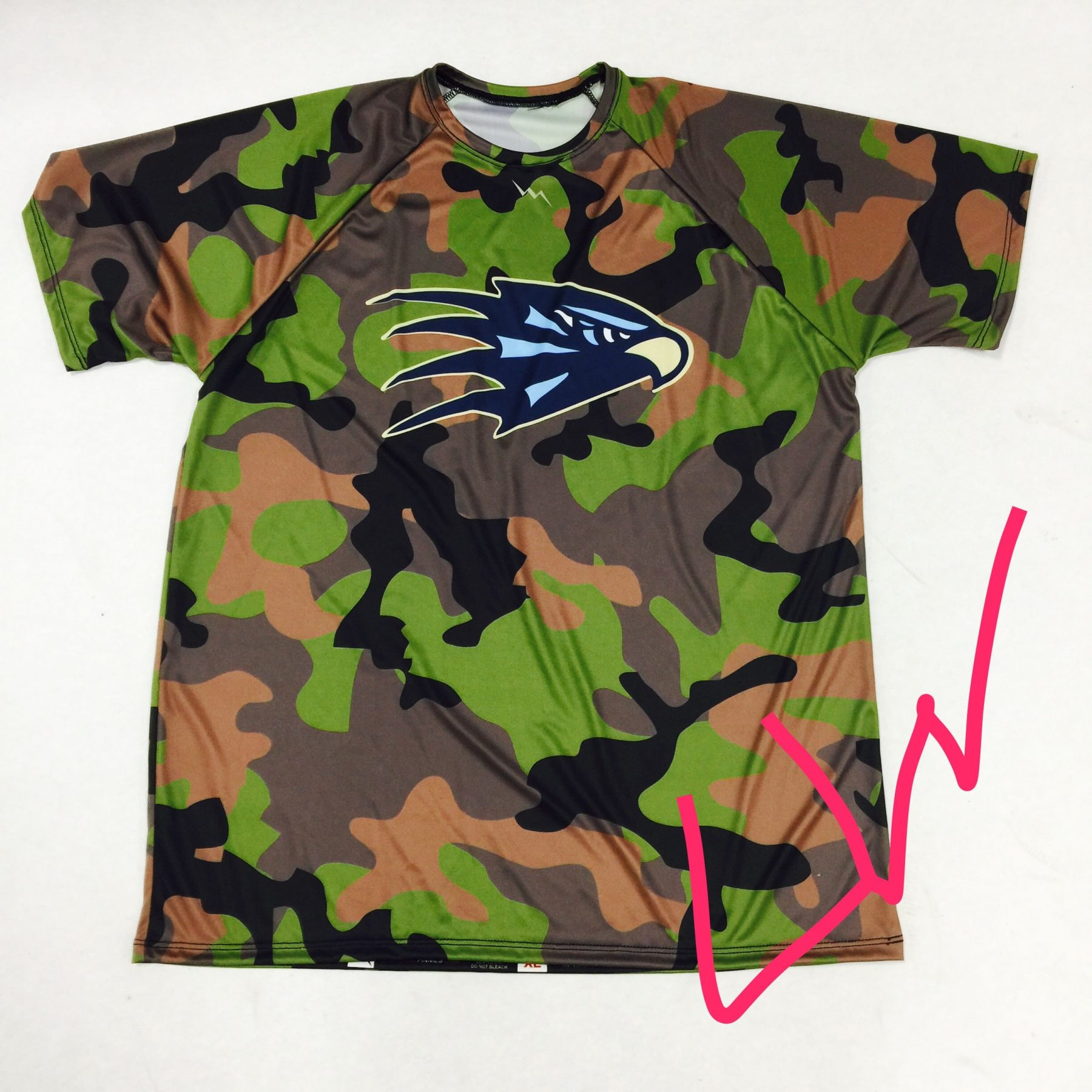 Camouflage Basketball Shirts