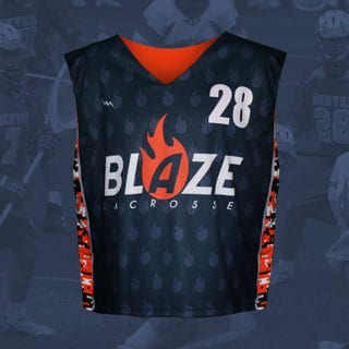 Men's Custom Reversible Lacrosse Jersey
