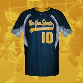Men's Custom Lacrosse Shooter Shirts