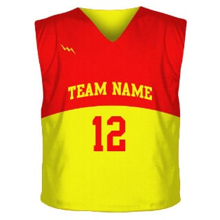 Collegiate Cut Sublimated Reversible Jersey Design 3