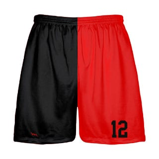 Mens Two Color Sublimated Shorts