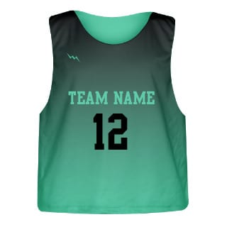 Sublimated Lacrosse Pinnie Fade Color