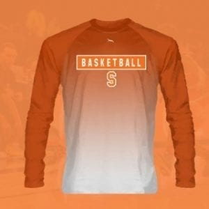 Long Sleeve Basketball Shooter Shirts