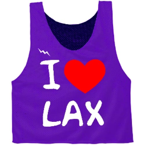 I Heart Lax Pinnies
