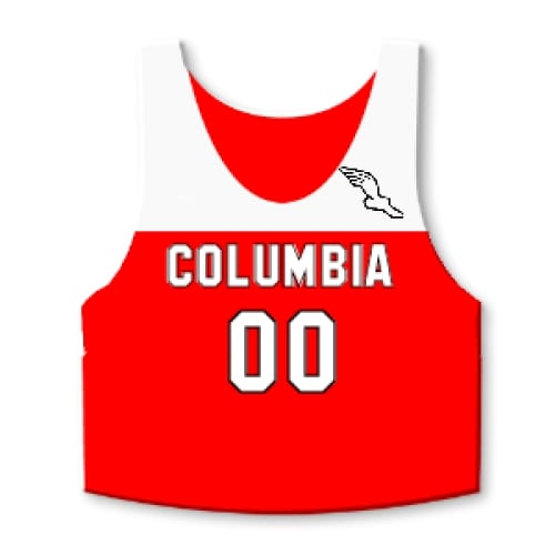 Cross Country Pinnies - Custom Pinnies