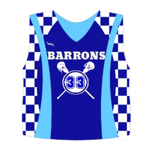 Custom Lacrosse Pinnies - Youth Lacrosse Reversibles
