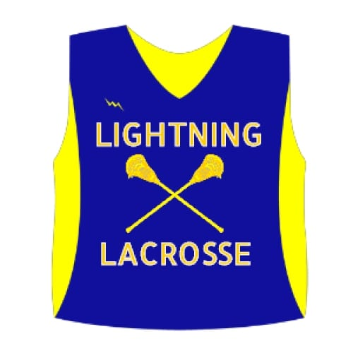 Lacrosse Pinnies | Sublimated Lacrosse Uniforms