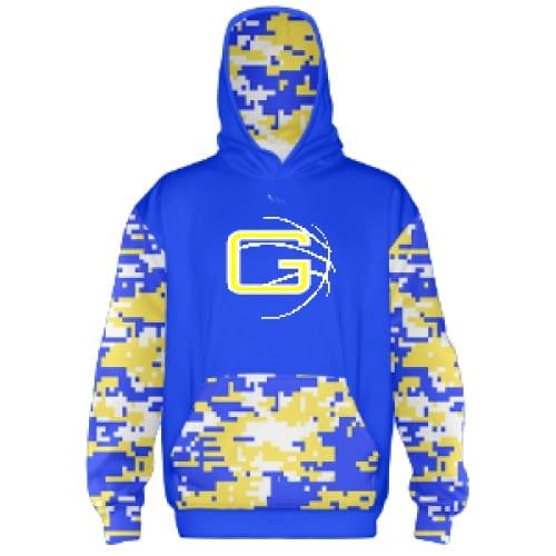 Basketball Hooded Sweatshirt