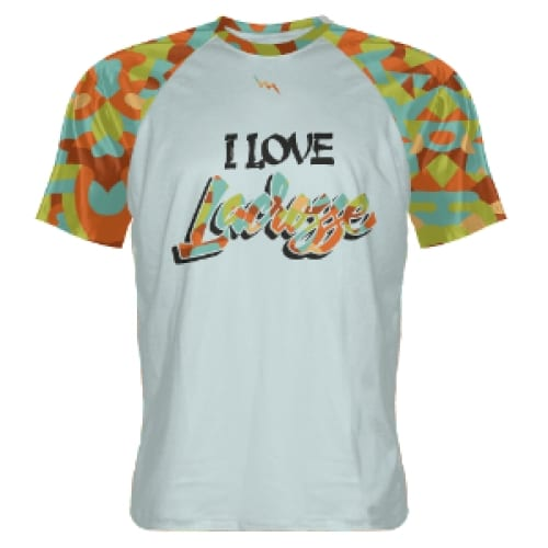 I+Love+Lacrosse+Custom+T+Shirts