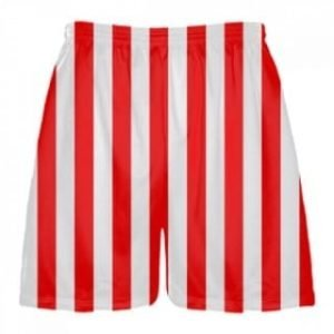 Striped Lacrosse Shorts