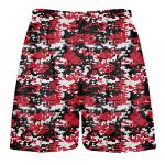 digital camouflage lacrosse shorts