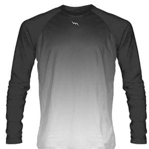 Charcoal-Gray-Long-Sleeve-Lacrosse-Shirts