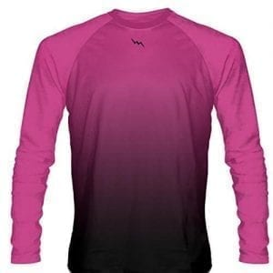 Hot-Pink-Long-Sleeve-Lacrosse-Shirts