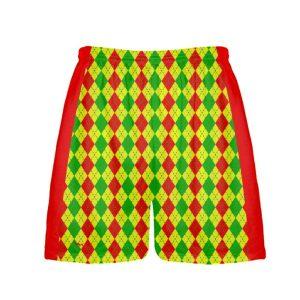 Argyle Shorts For Christmas