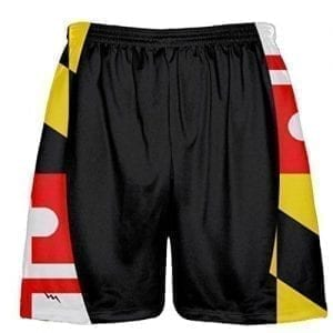 Black Maryland Shorts